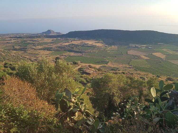 η θέα από την τοποθεσία που βρίσκεται η φυσική σάουνα