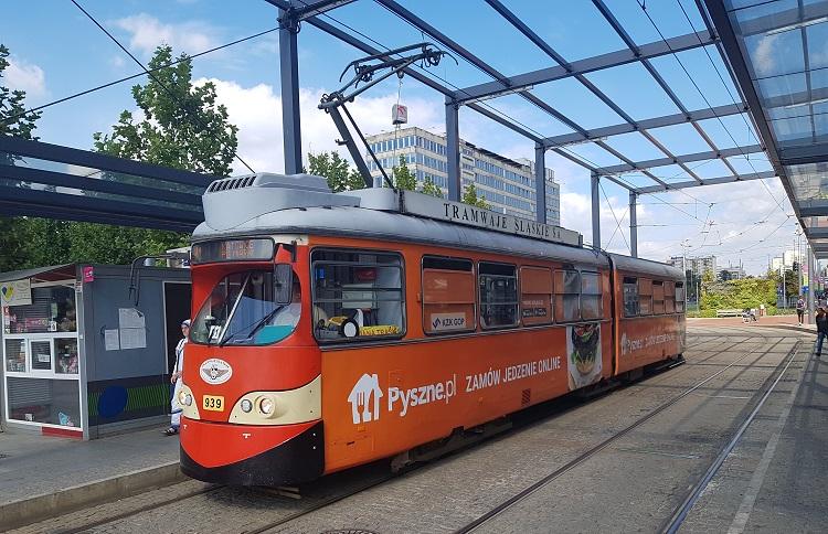 παλιό τραμ στο Κατοβίτσε