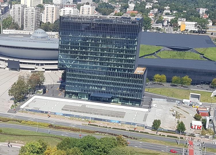 Το κτήριο της Fujitsu