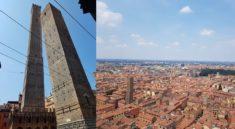Οι πύργοι της Βερόνας Asinelli και Garisenda