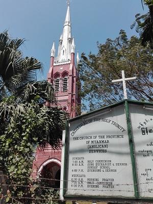 ναός της τριάδας της αγγλικανικής εκκλησίας