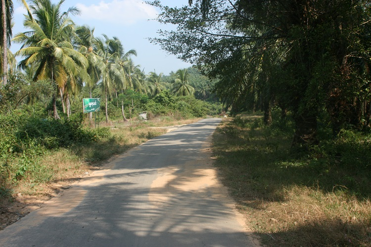 Ο δρόμος προς την παραλία