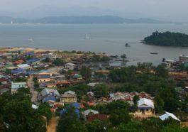 Kawthaung θέα από ψηλά
