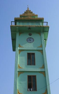 Το ρολόι στο κέντρο του Myeik