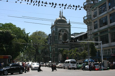 Τζαμί στη Yangon