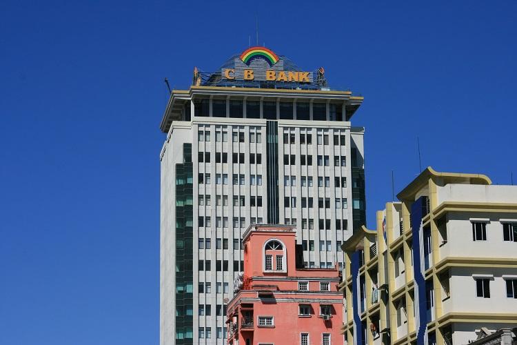 ουρανοξύστης με sky bar