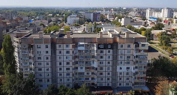 """Η θέα από το διαμέρισμά μασ το """"Sky the Apartment Centre"""""""