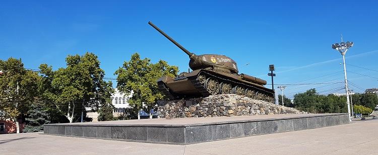 Το μνημείο του ρώσικου τανκ