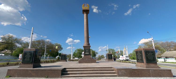 Μνημείο δείχνει ότι το Bender είναι πόλη στρατιωτικής νίκης των σοβιετικών
