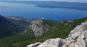 Το Zlatni Rat από την κορυφή Vidova Gora