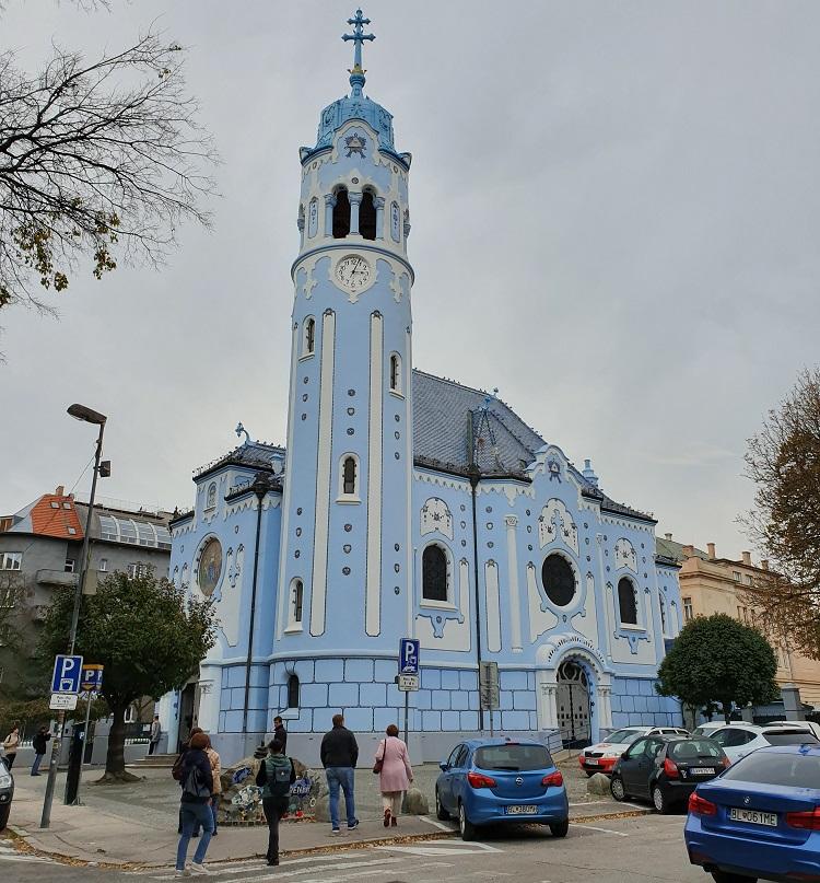 Η μπλε εκκλησία | photo (c) D. Chatziemmanouil