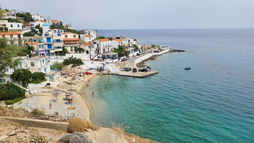 Παραλία Αρμενιστής στην Ικαρία