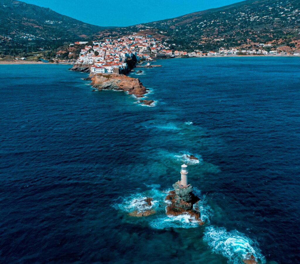 Φάρος Τουρλίτης στην Άνδρο (Christos Miaris)