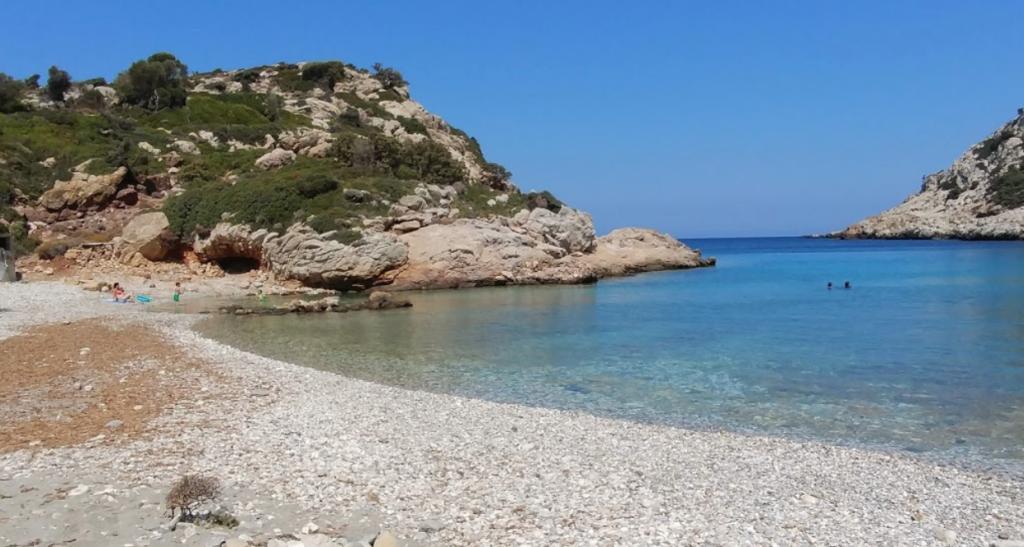 Παραλία Ιερό στην Ικαρία