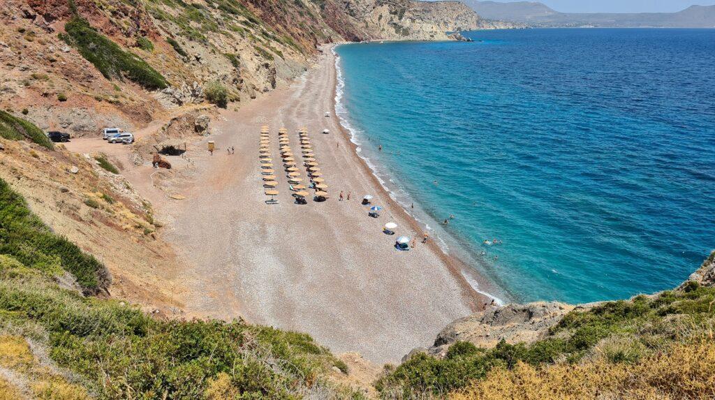 Παραλία Φυρή Άμμος, Κύθηρα